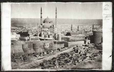 No. 4. Cairo, with the citadel in the foreground. :: International Mission Photography Archive, ca.1860-ca.1960