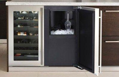 home ice machine undercounter Google Search Glass door