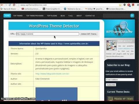 A must watch video: Como Utilizar a Ferramenta de Identificação de Tema Wordpress: o Wp Theme Detector - http://www.the-domain-name-checker.com/a-must-watch-video-como-utilizar-a-ferramenta-de-identificacao-de-tema-wordpress-o-wp-theme-detector