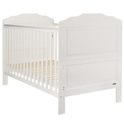 Obaby Beverley Cot Bed White