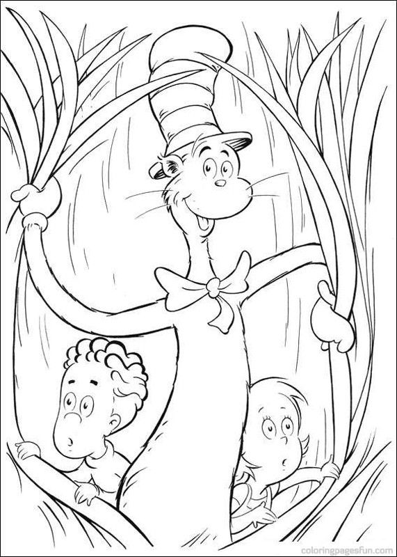 75 best dr seuss images on pinterest - Dr Seuss Printable Coloring Pages