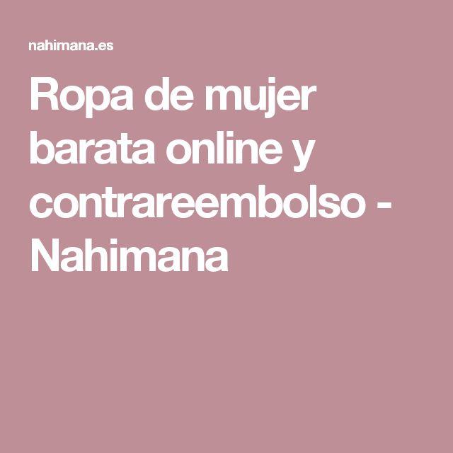 Ropa de mujer barata online y contrareembolso - Nahimana