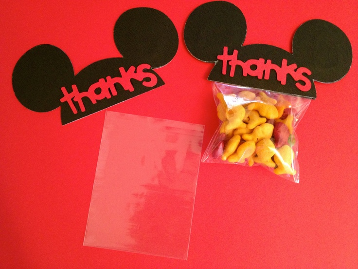 Mickey Mouse Ears Birthday Party Favors