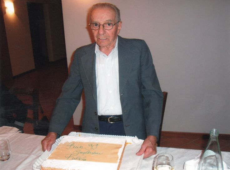 90th birthday of Fulvio Beo Tessari