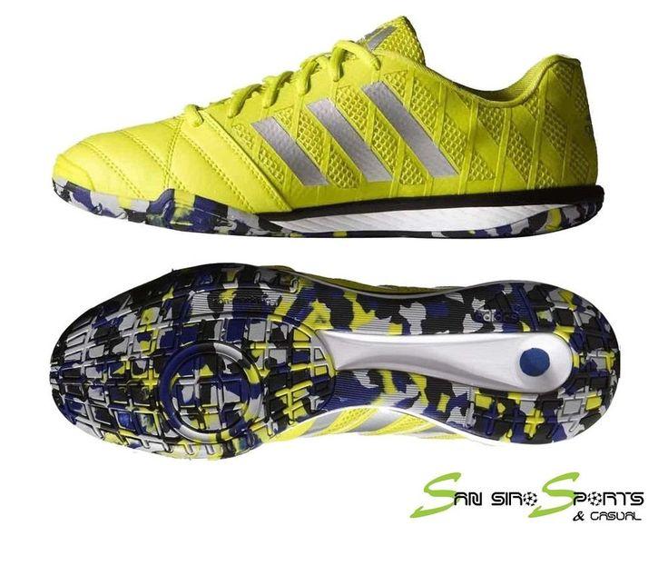 Adidas Freefootball Top Sala Futsal Shoes  Semi Solar Yellow/Core Black B23961 #Adidas