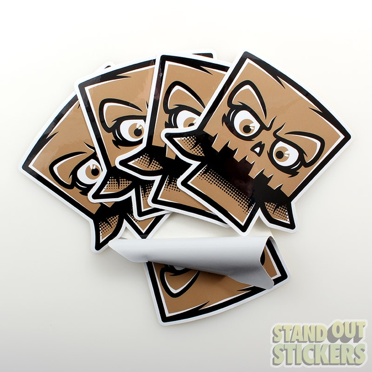 Unique Custom Die Cut Stickers Ideas On Pinterest Surfer - Custom die cut vinyl stickers how to apply