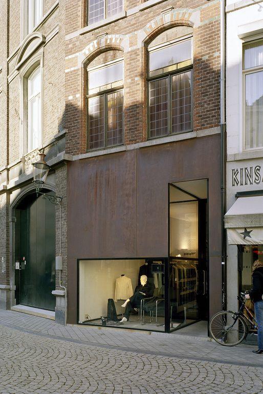 Projects - Wiel Arets Architects  http://www.wielaretsarchitects.com/en/projects/beltgens_fashion_shop/#