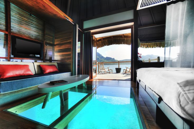 Honeymoon Hotels: The Most Unique Places to Stay - Inside Weddings Le Meridien Bora Bora, Bora Bora, French Polynesia