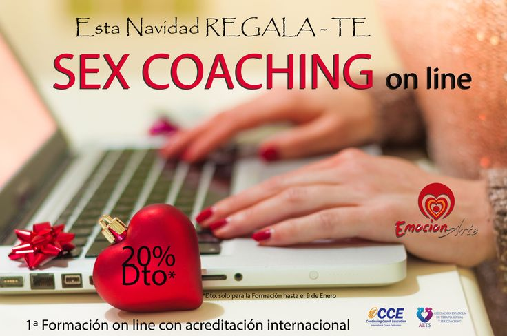 Regala-TE SEX COACHING 20% de Descuento en la formación On Line Utiliza tu Código Regala http://bit.ly/regalaonline  #feliznavidad #sexcoaching