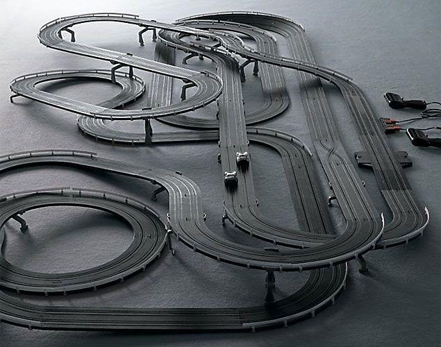 slot car race track....