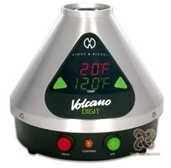 The Brand NEW Digital Volcano Digit Herbal Vaporizer has a LARGE fully customized Digital temperature LED display which immediately and precisely informs the user the status of the session reporting the desired and actual operating temperature. The temperature on the Digital Volcano Digit Vaporizer ranges between 104 and 446 degrees F, with temperature accuracy and built in air filtration system makes the Digital the best on the market!