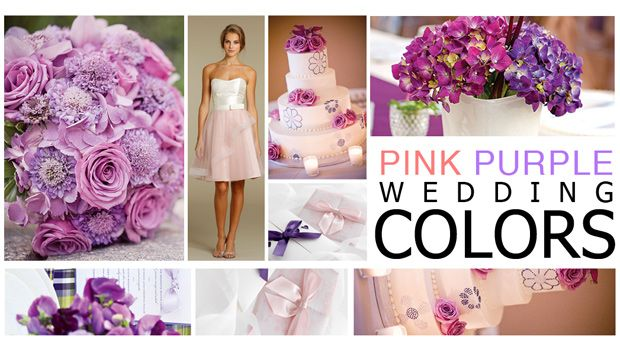 Fall Wedding Colors | Pink & Purple Wedding Color Schemes | Wedding Dress | Bridal ...
