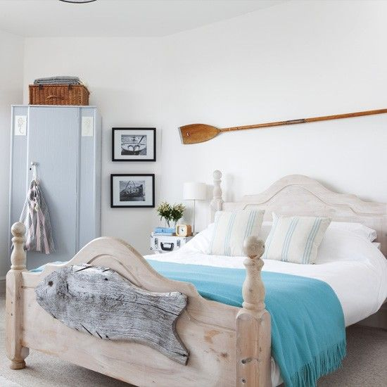 Coastal bedroom | Bedroom designs | Bedroom decorating ideas | housetohome.co.uk