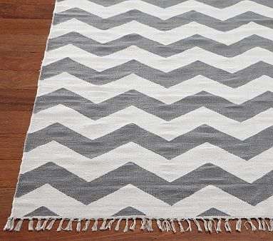 Chevron Rug... its under baby on pottery barn, but seriously this could go anywhere