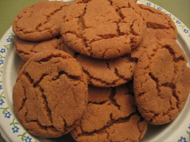 Old Fashion Ginger Snap Recipe
