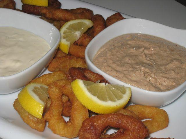 Kalamar Sosu Tarator Sos - En iyi Balık Yemekleri tarifi