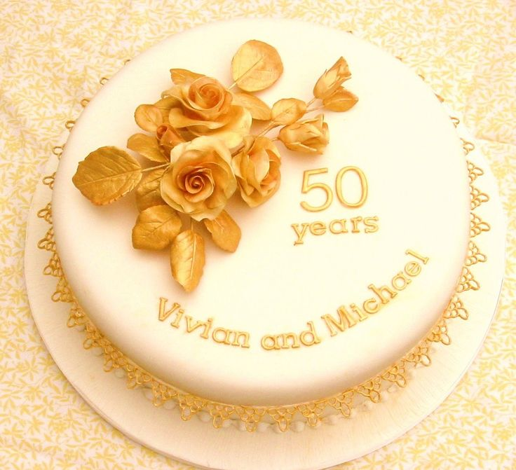 bf26635b0f70ef8c0a4cd443af0a5366  golden anniversary cake th wedding anniversary Images Of Th Wedding Anniversary Cakes