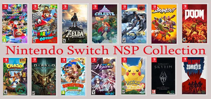 Full Nintendo Switch NSP Collection Download (Gdrive,1fichier,MEGA