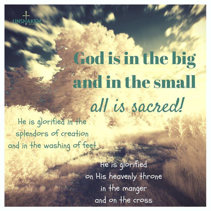 Let Him be big! #passionatepurpose #allgrownup #mystoryHisstory #purposefulplatforms #glorifyGodandenjoyHimforever #makeHimknown #Gospelliving #sacredcalling #sacredpurpose