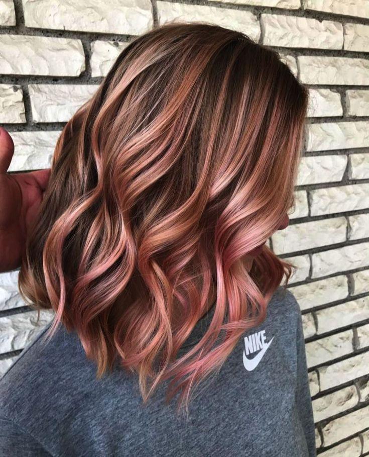 Dip Dye Hair Colour Ideas For Short Hair Any Hair Color Ideas Red With Blonde Hi Blonde Color Colour Dip Dy Rose Hair Color Underlights Hair Rose Hair