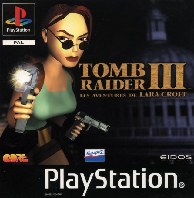TOMB RAIDER III - ADVENTURES OF LARA CROFT (PAL) - FRONT
