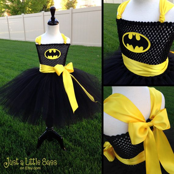 Ready to Ship  Batman Tutu by JustaLittleSassShop