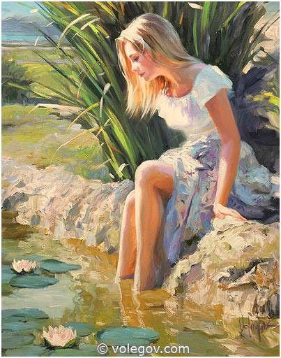 """""""Water lilies"""" by Vladimir Volegov"""