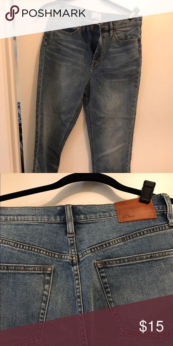 J crew jeans J crew Billie Demi boot crop J. Crew Jeans Boot Cut