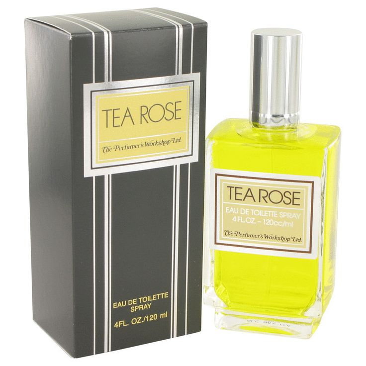 Tea Rose Perfume By Perfumers Workshop EDT Spray 4 Oz (120 Ml) For Women