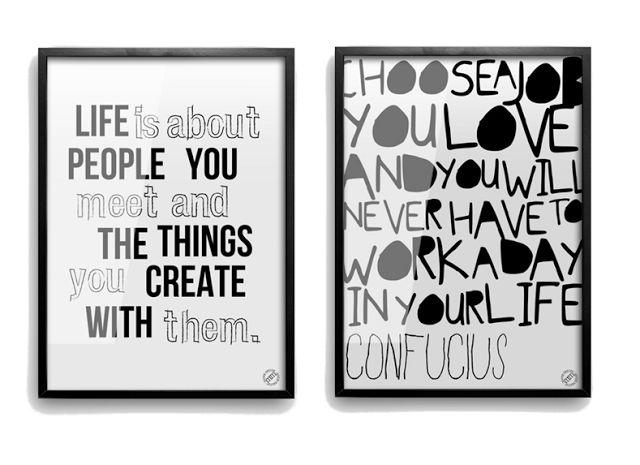 Blog déco design Joli Place #statement #poster