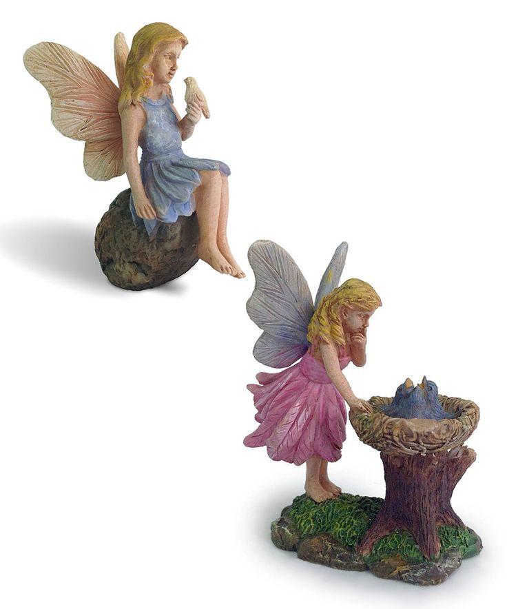 Look at this #zulilyfind! Bluebird Nest & Feathered Friend Figurine by Marshall Home and Garden #zulilyfinds