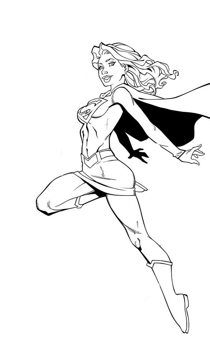 supergirl stencil projects patterns etc pinterest