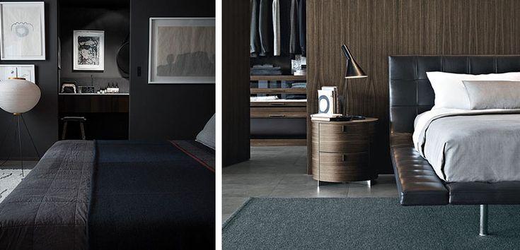 Dormitorios masculinos en tonos neutros - http://www.decoora.com/dormitorios-masculinos-en-tonos-neutros.html