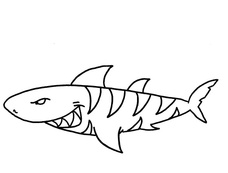 shark coloring pages printable az coloring pages