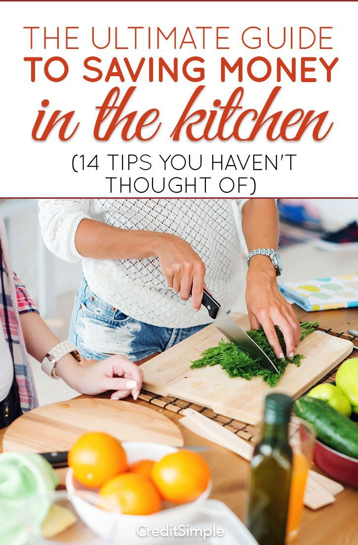 Check out these 14 tips you haven't thought of on how to save money in the kitchen.