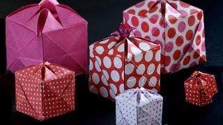 Boite cadeau en une seule pièce  30x30 https://www.youtube.com/channel/UCBWdCpcUq0AvUvld0iv8evA