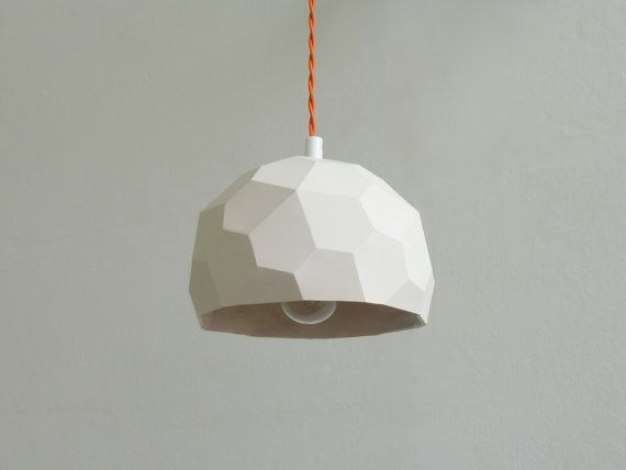 PolyGlobe Pendant Light by RawDezign on Etsy
