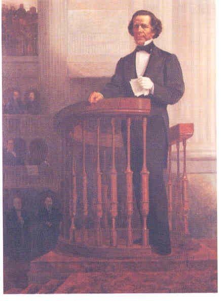 Retrato de Melchor Ocampo, 1874.