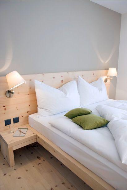 53 besten Zirbenbett Schlafzimmer Bilder auf Pinterest - zirbenholz schlafzimmer modern