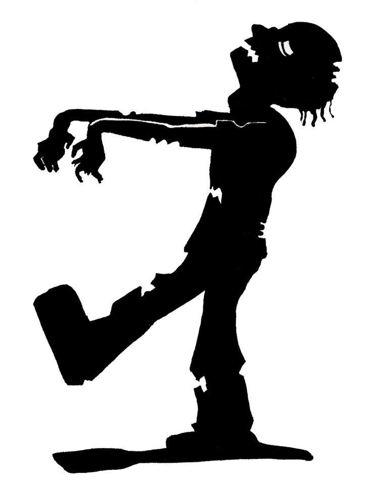 Zombie Silhouette | zombie silhouette 944 x 1232 105kB jpeg