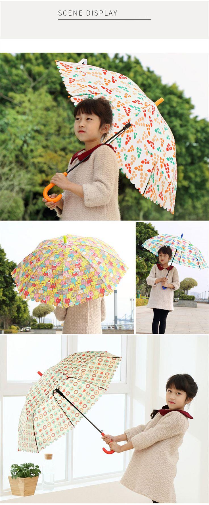 Élément de nouveauté Marque Enfant Animal de Bande Dessinée Parapluie En Plein Air Coupe Vent Forte À long manche Parapluie Enfants Ensoleillé et Pluvieux Parapluie dans Parapluies de Maison & Jardin sur AliExpress.com | Alibaba Group