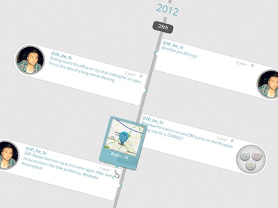 Browser Lead Twitter Timeline Concept