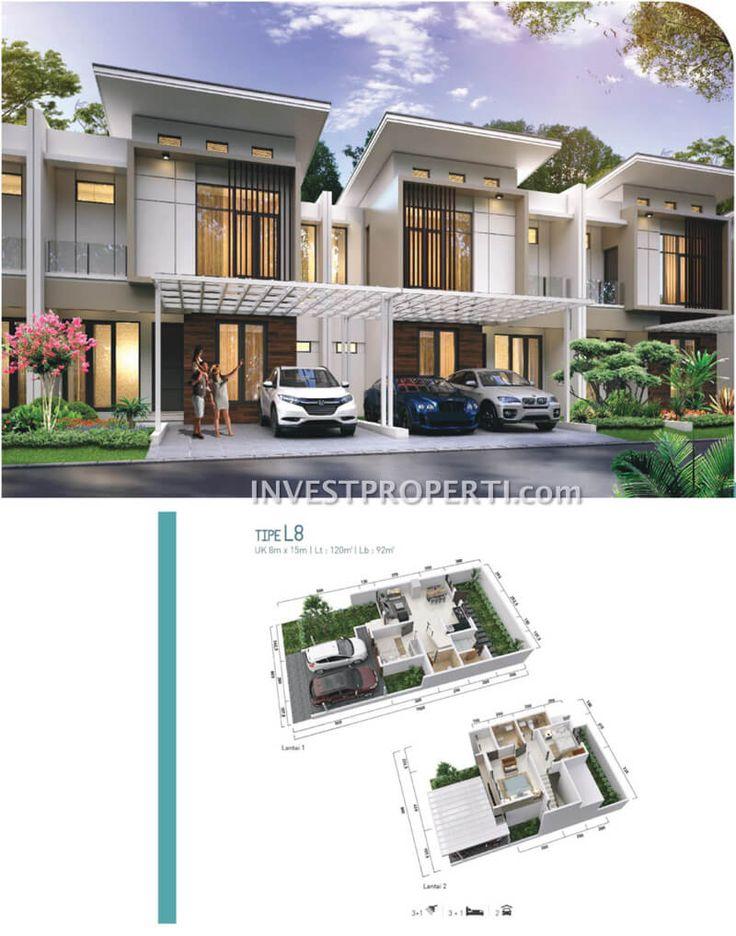 Cluster Shinano Jakarta Garden City Tipe L8 #clusterjgc #jakartagardencity