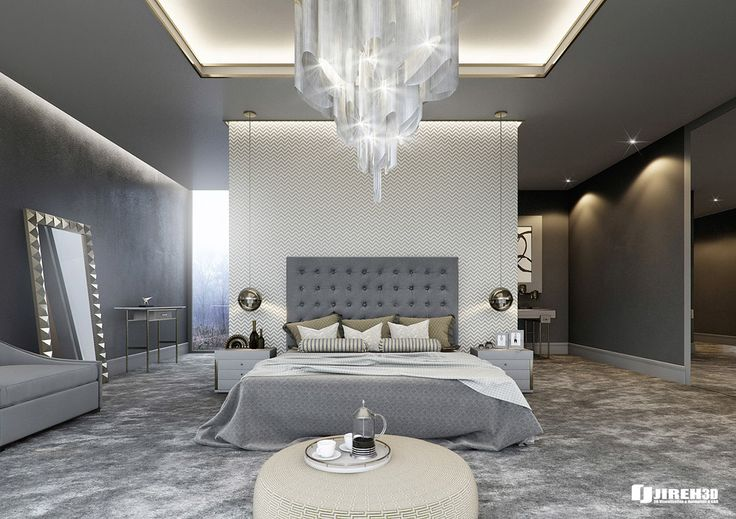 15 Luxurious Bedroom Designs With Tufted Headboards