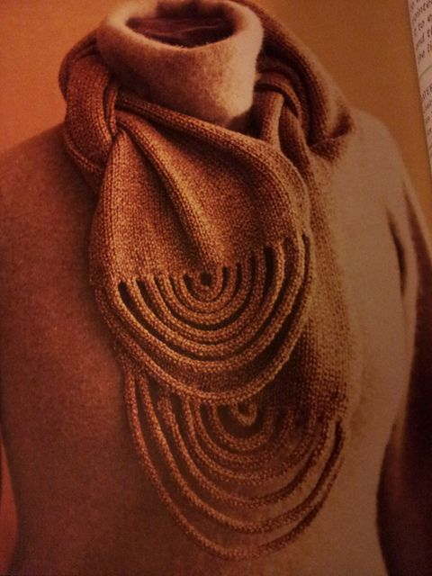 Ravelry: Draping Loops I-Cord Scarf pattern by Jane Davis