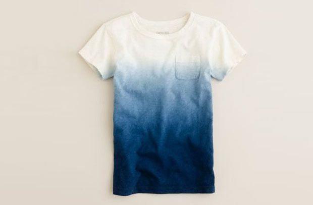 Faça você mesmo: Camiseta Ombré.