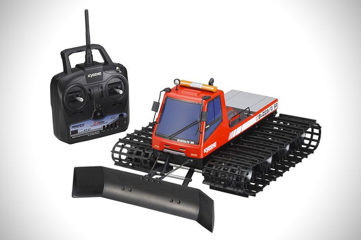 Blizzard SR RC Snow Plow by Kyosho