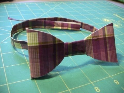 How to make a Duct Tape Bow tie - YouTube