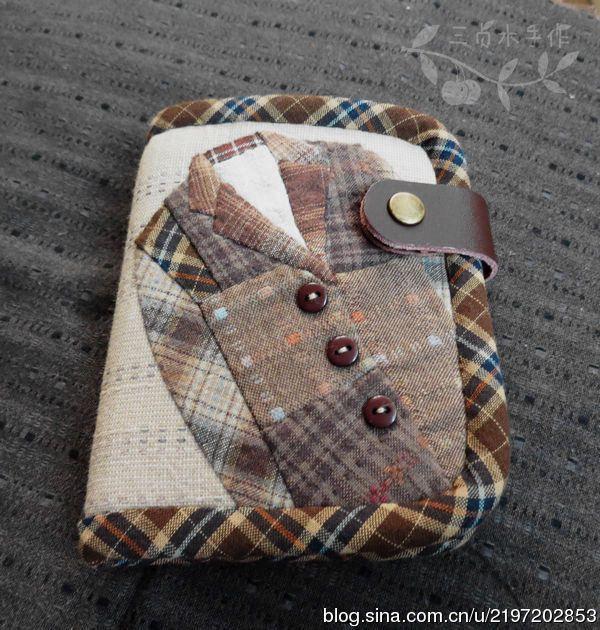 又是定制-西装款短款钱包。又是钱包,为什么总是钱包。图纸分享