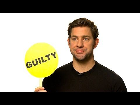 John Krasinski Plays Never Have I Ever - YouTube